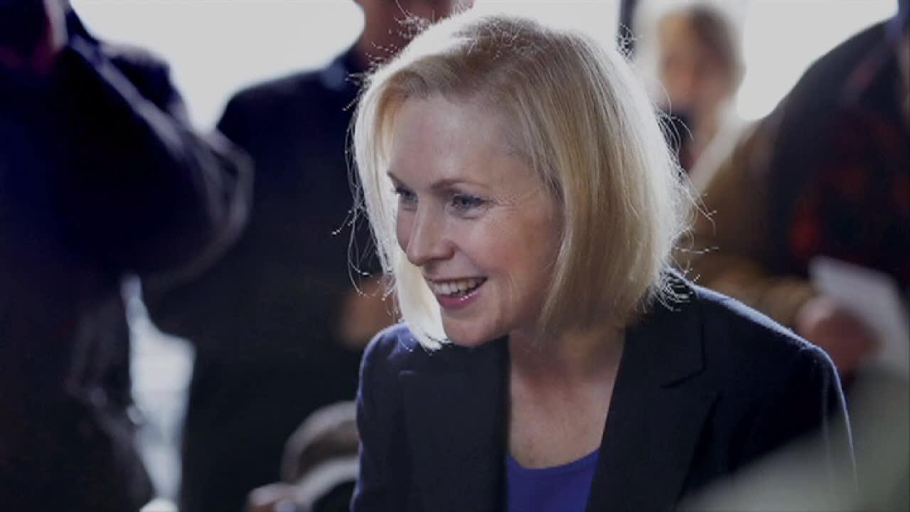 Gillibrand, pumped for return to Iowa, gets slammed for 'cringeworthy' workout video thumbnail