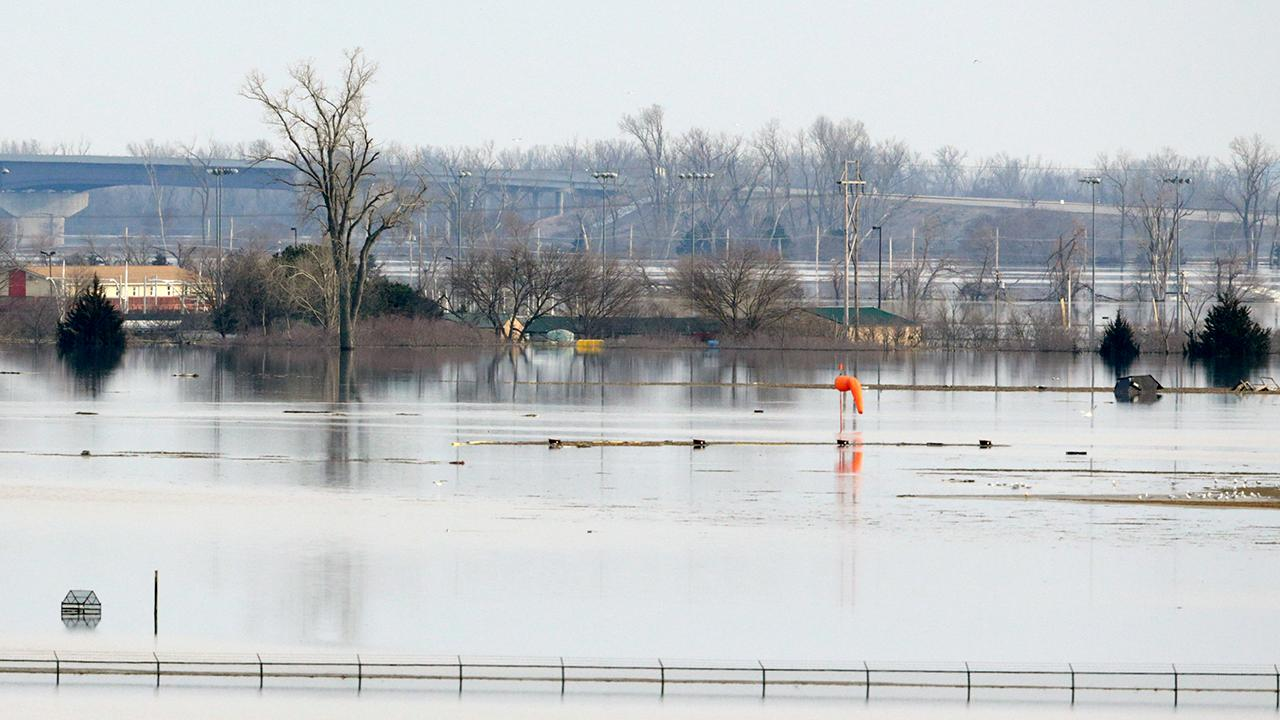 Hundreds of homes flooded after Missouri River flowed over, breached levees