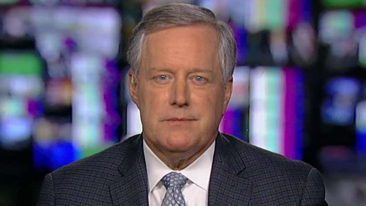 Rep. Mark Meadows says 'sitting ambassadors' were involved in coordinated effort to take down President Trump