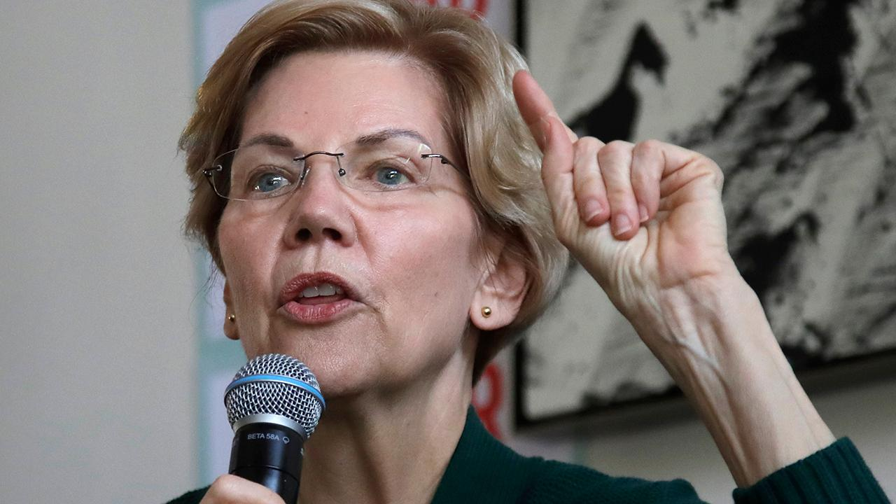 Elizabeth Warren pledges to combat white supremacy
