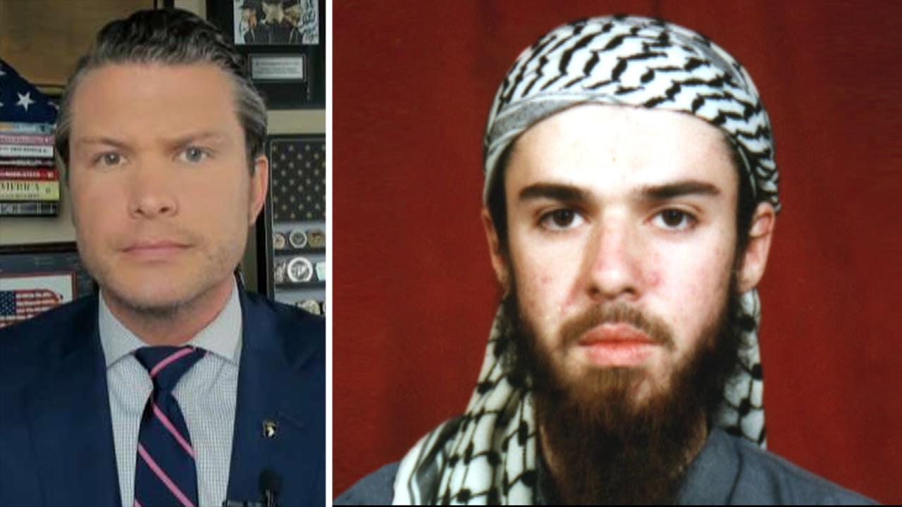 Pete Hegseth on upcoming release of John Walker Lindh: This should scare every American