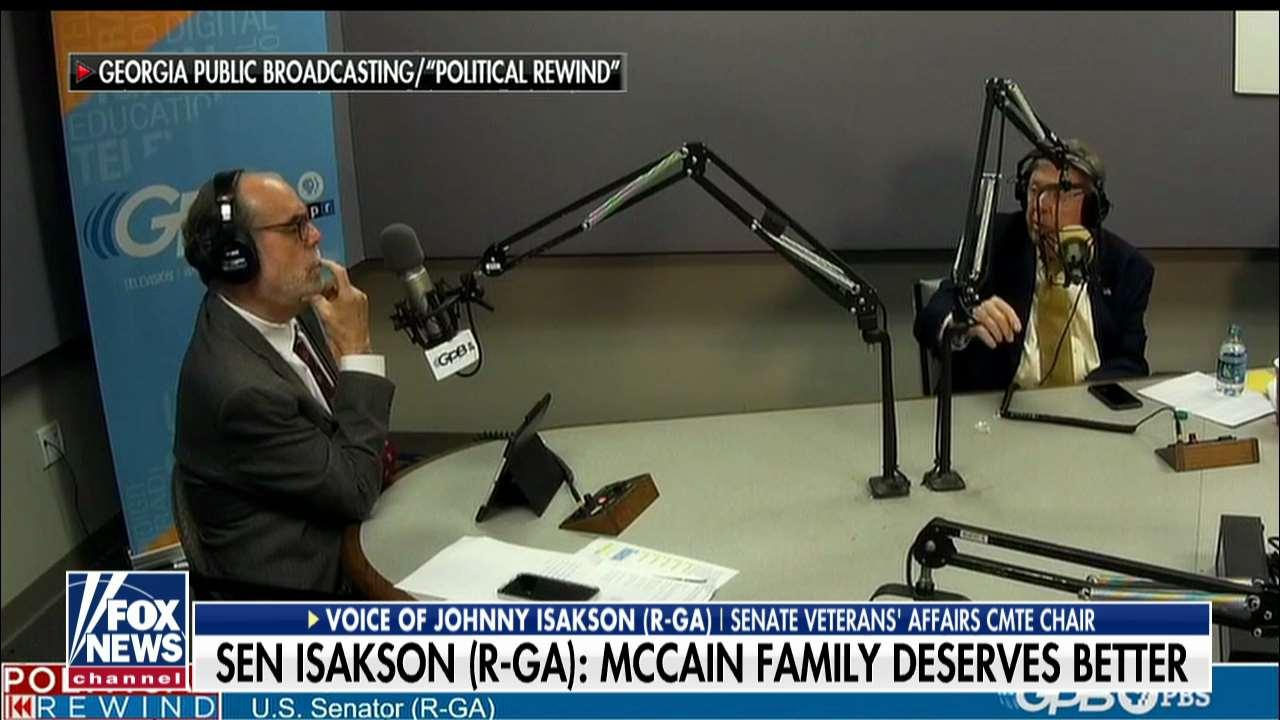 GOP Sen. Isakson Gives Trump Verbal 'Whipping' Over Repeated McCain Attacks