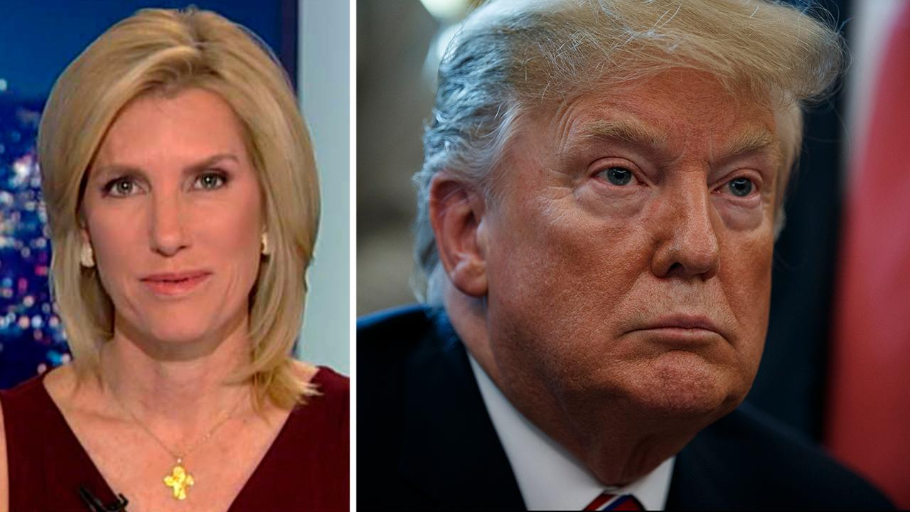 There's too much left to be done to waste a moment on score settling, the host of 'The Ingraham Angle' says.