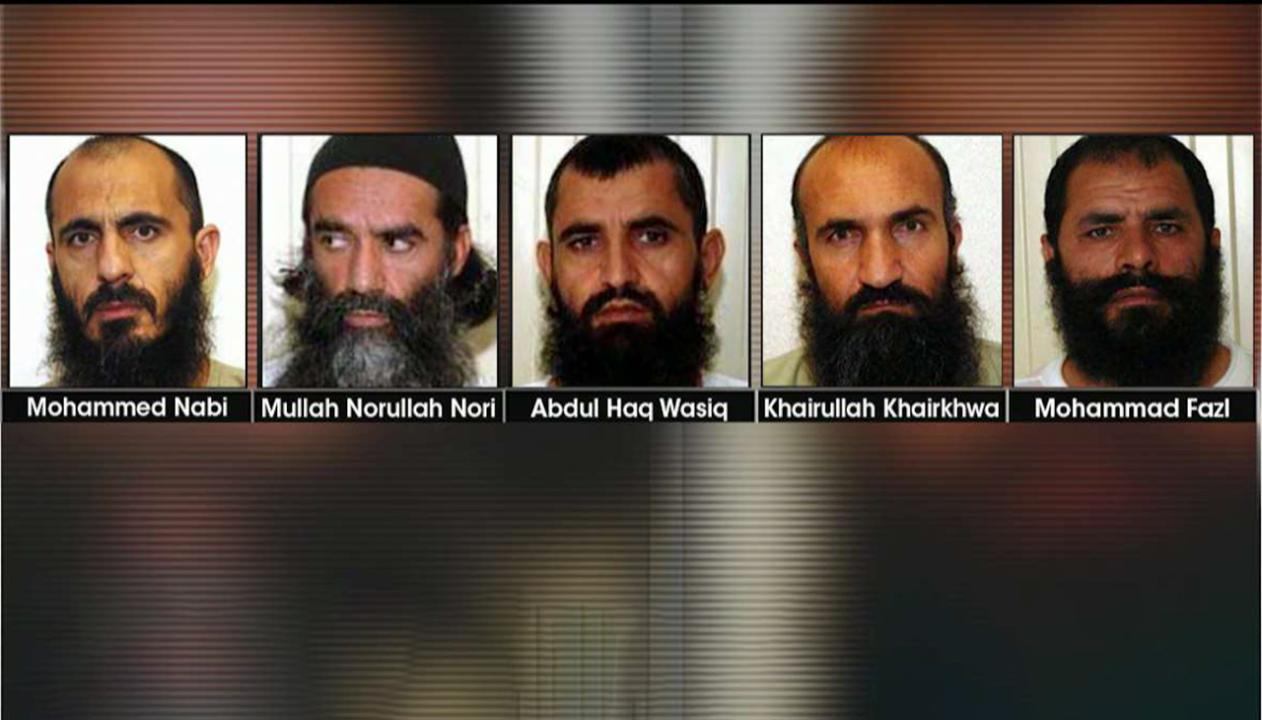 Five former Guantanamo detainees take part in US-Taliban peace talks