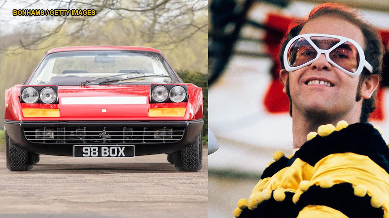 A Ferrari 365 GT4 BB, owned by Sir Elton John, is up for sale for $400,000. The Ferrari was originally bought by the legendary singer in 1974 and is one of 58 right-hand drive versions ever made. The Italian supercar was the fastest and most expensive car in the world at the time of purchase, is powered by a 12-cylinder, 4.4-liter engine with a top speed of about 180mph, produces 360 break horsepower, and has only driven 9,700 miles.