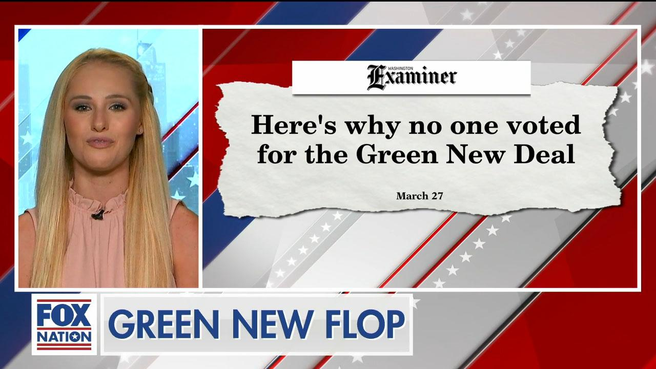 Tomi Lahren reacts to Green New Deal Senate vote