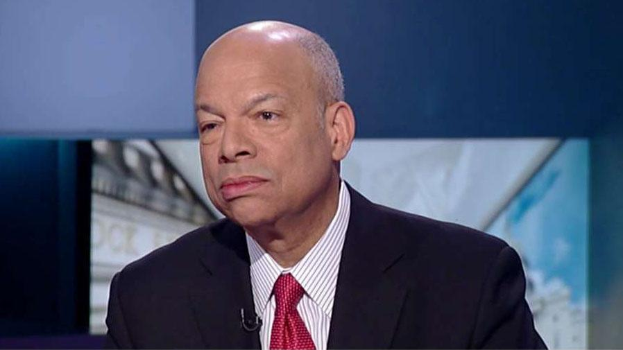 Former Homeland Security Secretary Johnson acknowledges there's a crisis on the southern border