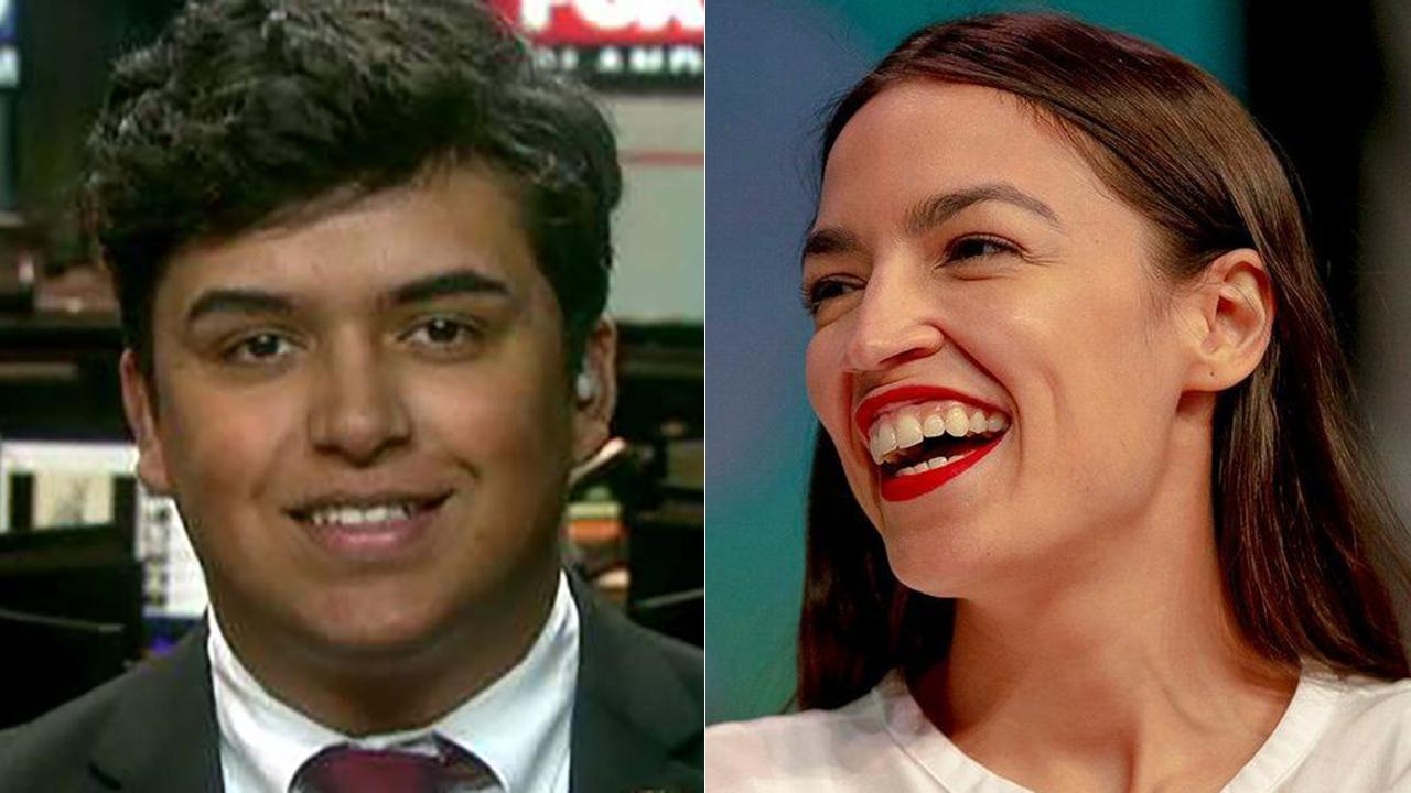 Ocasio-Cortez's record as youngest member of Congress may be challenged by Florida Republican