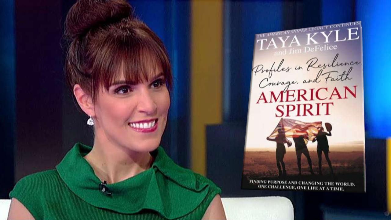 'American Sniper' wife Taya Kyle recalls how she leaned on faith after Chris Kyle's death: 'It was a journey'
