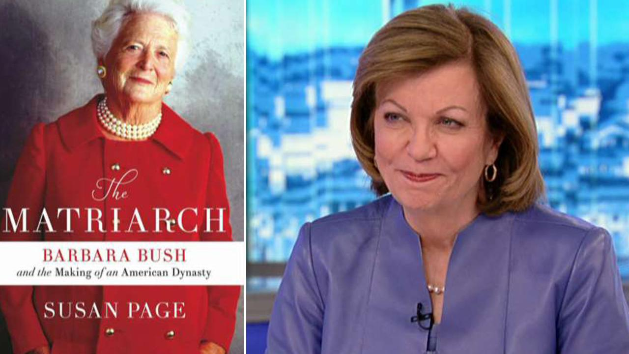Susan Page discusses her new Barbara Bush biography 'The Matriarch'