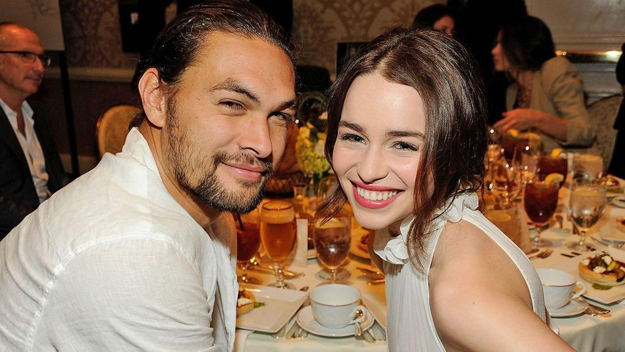 Jason Momoa was devastated when 'Game of Thrones' co-star Emilia Clarke suffered brain aneurysms