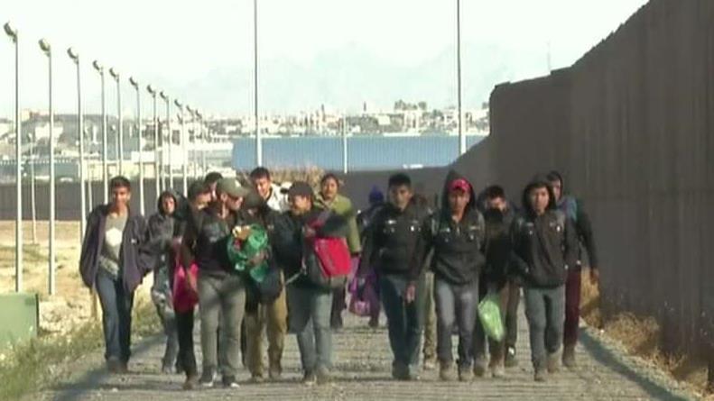 DHS Secretary Nielsen tours overwhelmed El Paso border sector