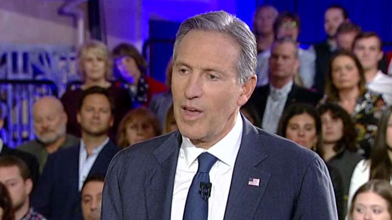 Howard Schultz: I have been a lifelong Democrat, but the Democratic Party left me