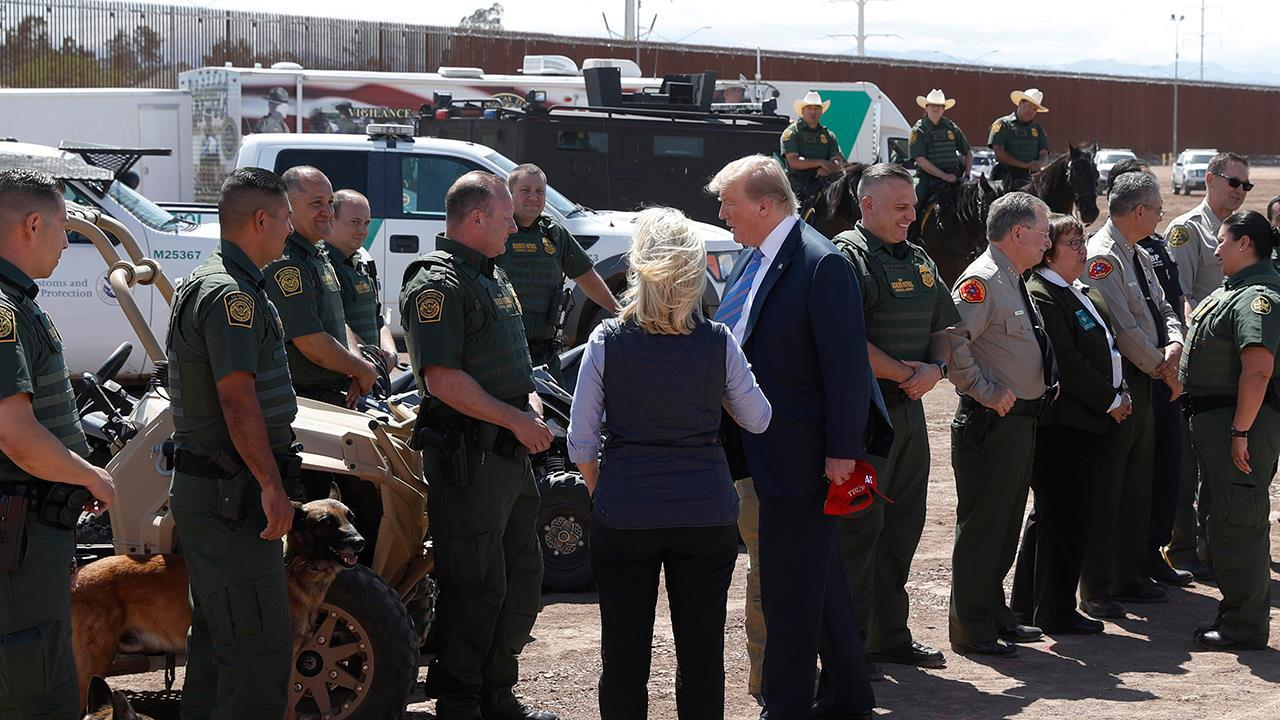Sheriffs and law enforcement thank President Trump for having their back on the border crisis