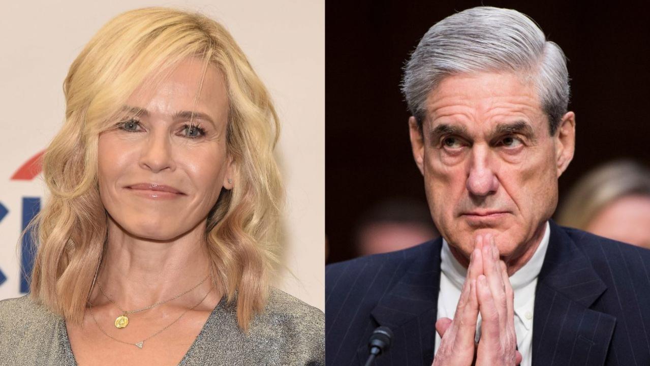 Chelsea Handler says she has 'feelings' for Robert Mueller