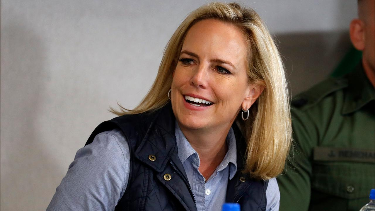 Kirstjen Nielsen to resign from the Department of Homeland Security