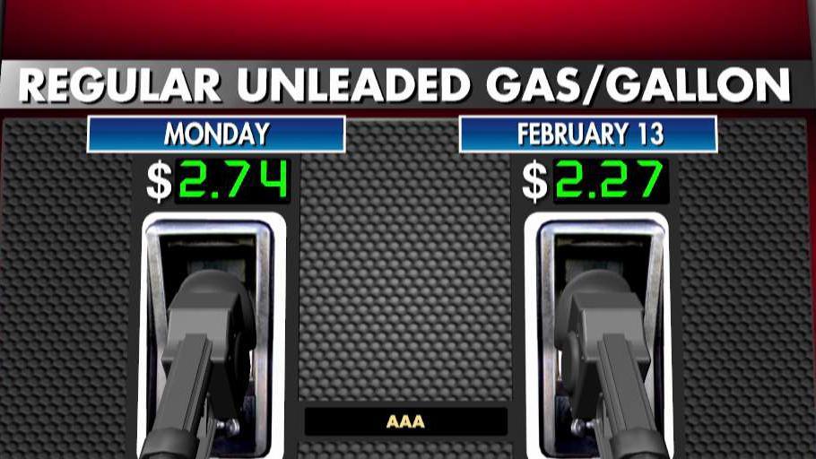 National average price for regular unleaded gas rises