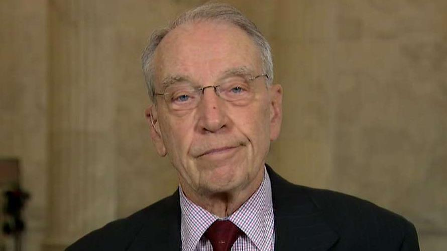 Grassley: Dems' request for Trump's tax returns a misuse of congressional oversight