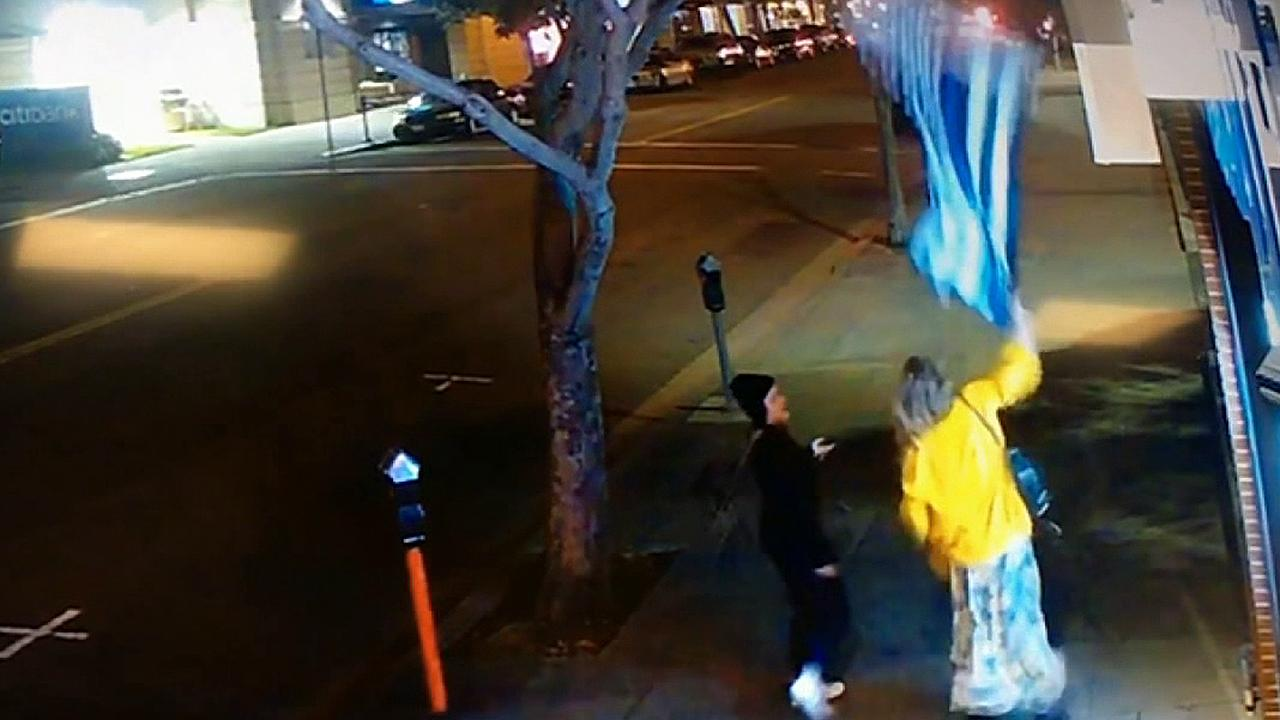 Westlake Legal Group 694940094001_6024514400001_6024516726001-vs Woman seen tearing down 'thin blue line' flag sought by California police Nicole Darrah fox-news/us/us-regions/west/california fox-news/us/crime/police-and-law-enforcement fox-news/us/crime fox news fnc/us fnc article 508257a2-3d51-5ec9-869b-8a2ecc244f85