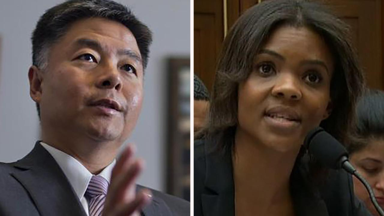 Westlake Legal Group 694940094001_6024642442001_6024641014001-vs Video of Candace Owens firing back at Ted Lieu nears CSPAN record Lukas Mikelionis fox-news/politics/house-of-representatives/hearings fox-news/politics/house-of-representatives/democrats fox-news/politics/house-of-representatives fox news fnc/politics fnc article af4b6876-5411-55df-98a5-3f7472478ada
