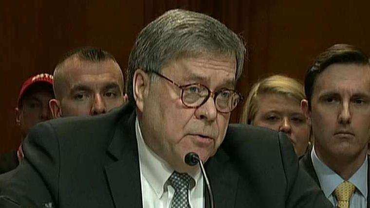 Westlake Legal Group 694940094001_6024896014001_6024898385001-vs Media take issue with AG Barr for saying 'spying did occur' on Trump campaign Joseph Wulfsohn fox-news/politics/justice-department fox-news/person/william-barr fox-news/entertainment/media fox news fnc/entertainment fnc article 125bafcd-e968-56bf-8aa0-216c2e6e2636