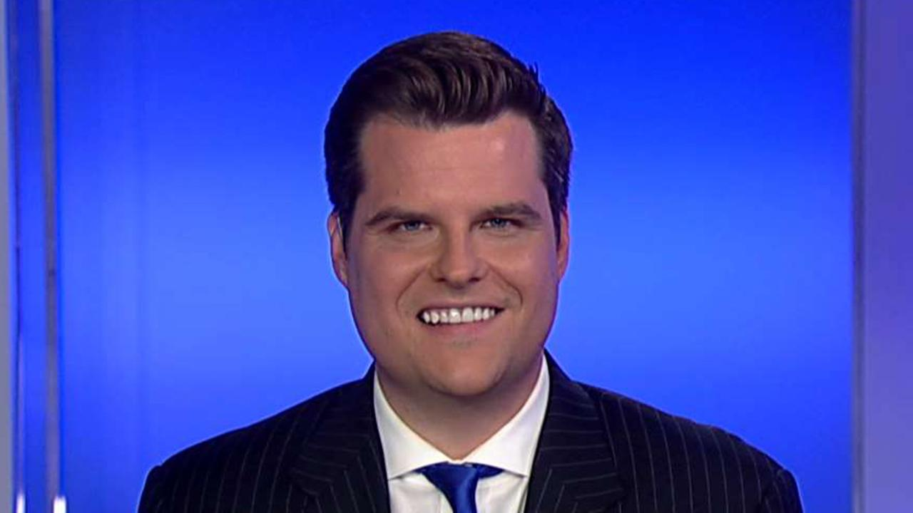 Gaetz: Adam Schiff needs to be removed from the Intelligence Committee