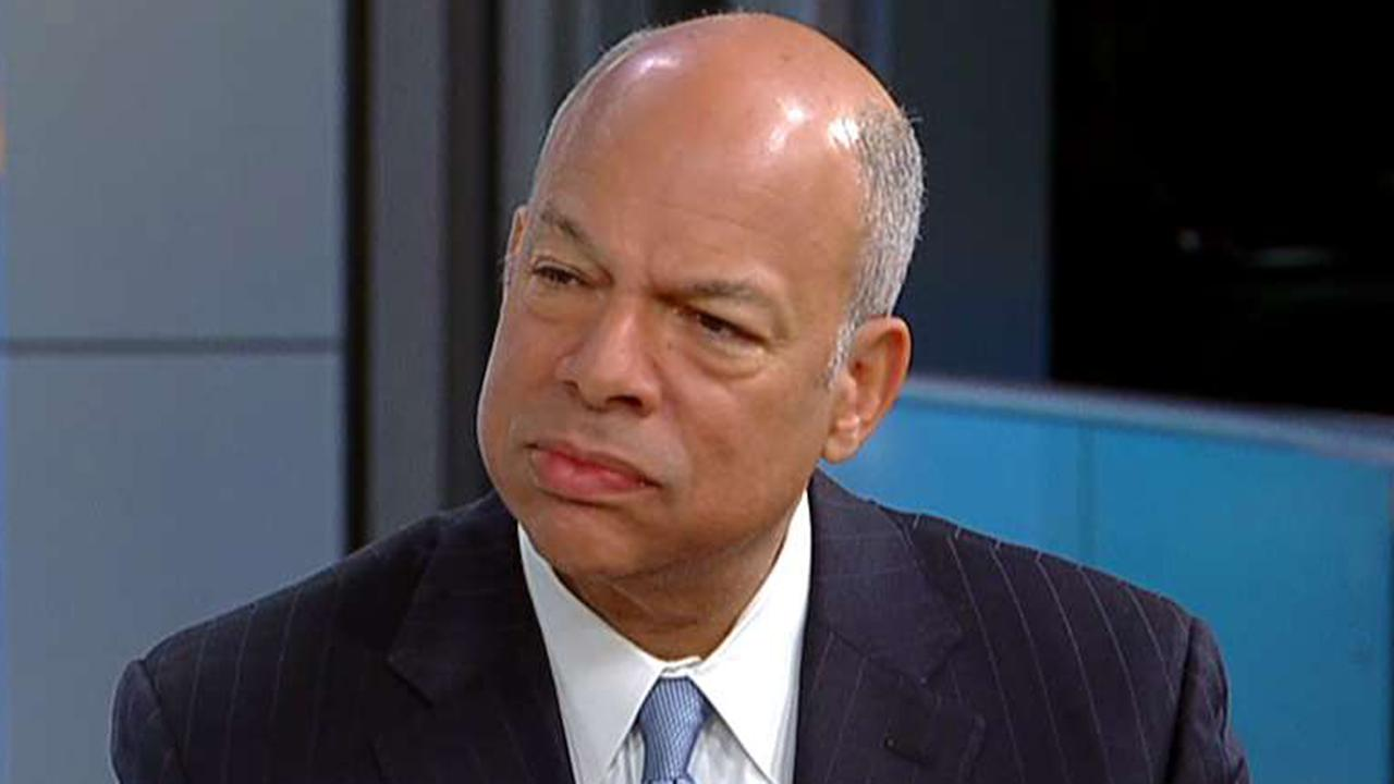 Jeh Johnson reacts to Assange arrest, calls situation at southern border a 'crisis by any measure'