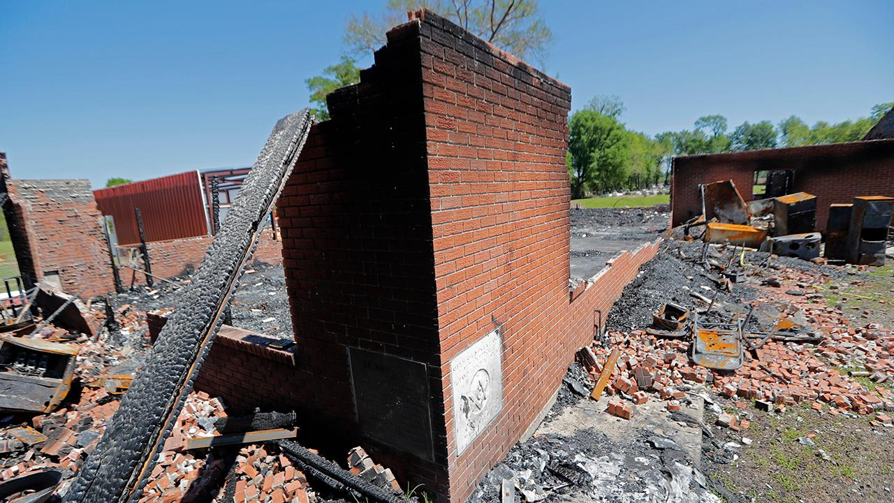 Westlake Legal Group 694940094001_6025175669001_6025173434001-vs Twitter campaign raises over $1M for 3 historically black Louisiana churches after fires Joseph Wulfsohn fox-news/us/us-regions/southeast/louisiana fox-news/us/religion/christianity fox-news/us/disasters/fires fox-news/us/disasters/disaster-response fox-news/us/crime/hate-crime fox-news/faith-values/faith fox-news/entertainment/media fox news fnc/us fnc cf49bc2f-d44a-50b2-980d-b2148c148b4a article