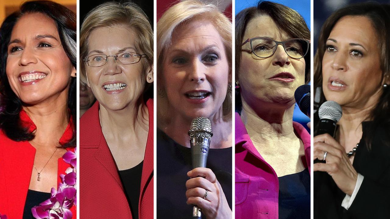 Female 2020 Democratic hopefuls struggle in the polls and fundraising