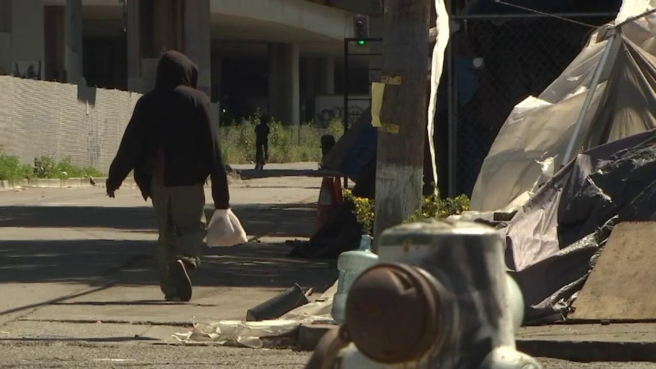 Community leaders in California meet to discuss homelessness issue