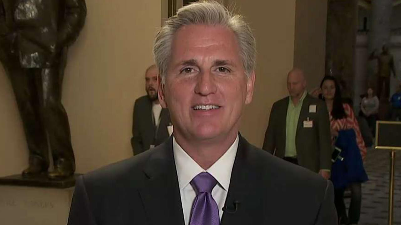 Rep. Kevin McCarthy says Attorney General Bill Barr is a man of 'honor'
