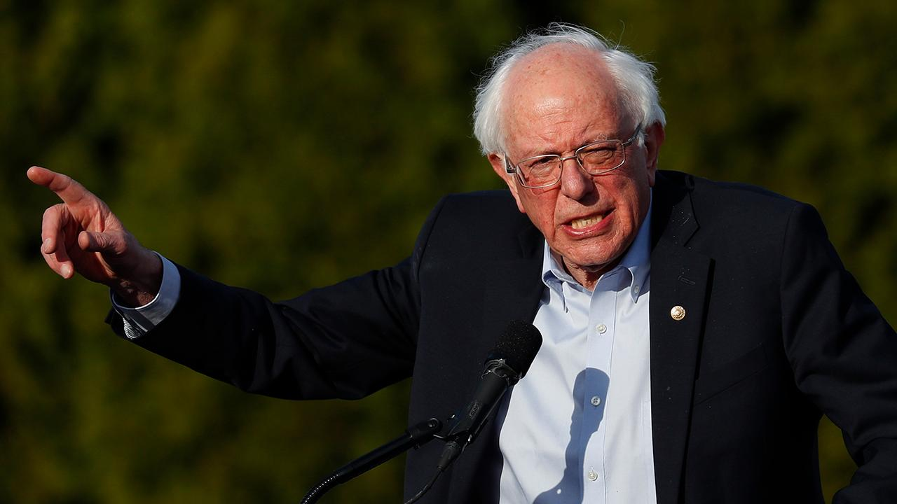 Bernie Sanders hits the campaign trail, reaching out to working class voters