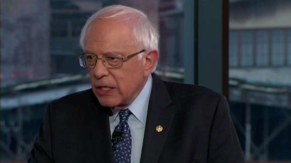Bernie Sanders spars with Baier, MacCallum on wealth tax