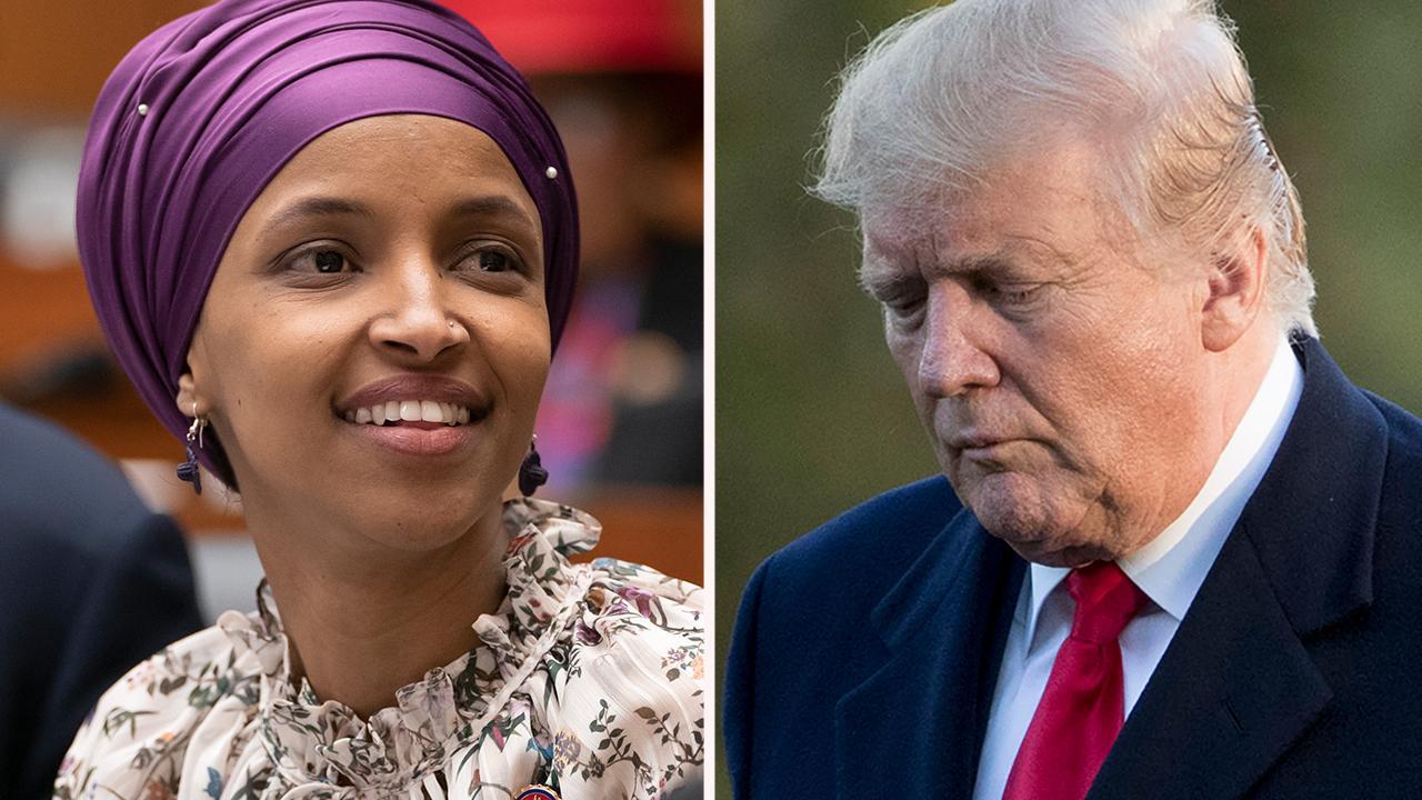 Trump's rhetoric vs. progressive Democrats: Trump targets Omar heading into 2020