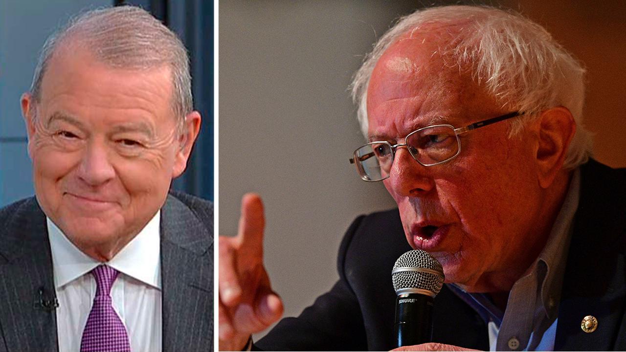 Stuart Varney: Bernie Sanders is a one-percenter, millionaire and socialist. I've got a problem with that