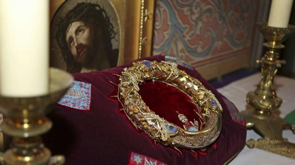 Crown of Thorns relic saved from Notre Dame fire