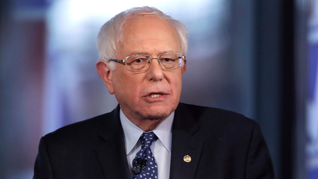 Westlake Legal Group 694940094001_6026886377001_6026886189001-vs Bernie Sanders visibly frustrated as hecklers unload at She The People Forum for women of color Gregg Re fox-news/politics/elections/campaigning fox-news/politics/2020-presidential-election fox-news/person/bernie-sanders fox news fnc/politics fnc article a2911243-70b2-5a41-b6a6-d9a0a14bd6e9