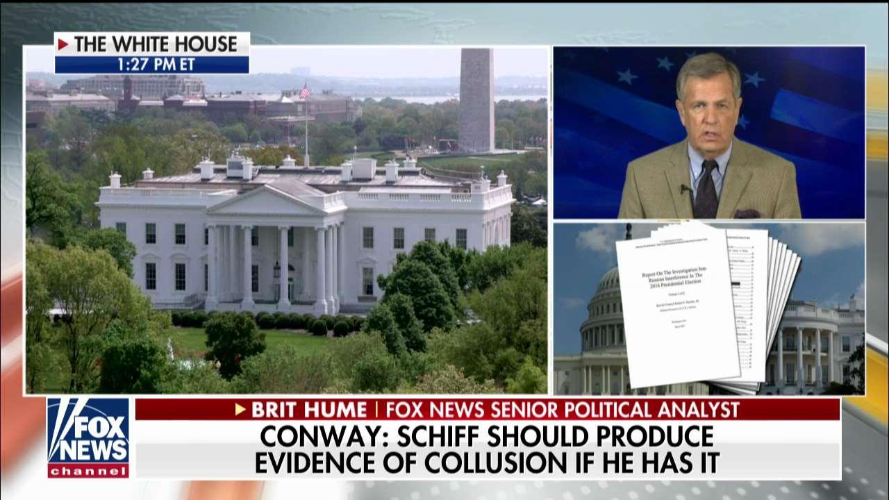 Brit Hume on Schiff Claiming Collusion