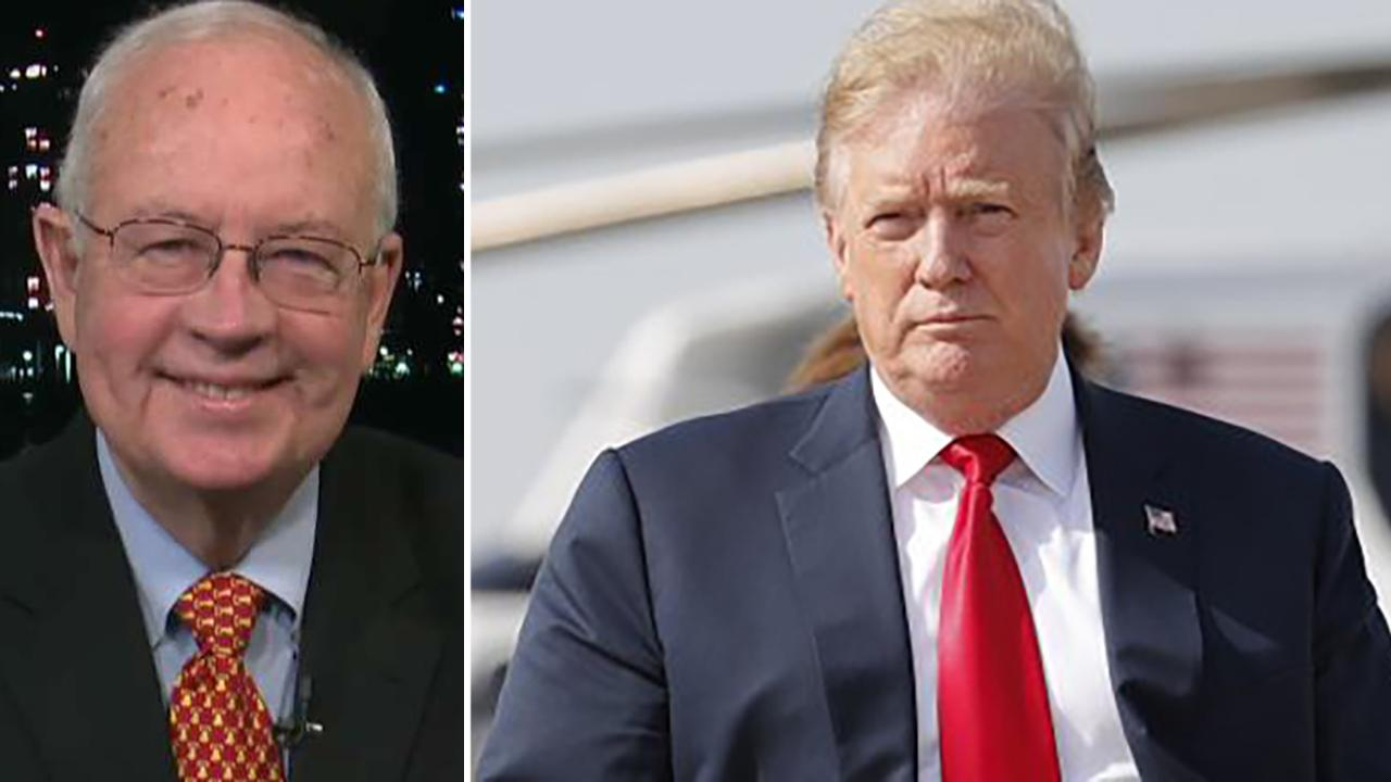 Westlake Legal Group 694940094001_6027921924001_6027917417001-vs Trump's 'unprecedented cooperation' with Mueller probe being weaponized for 'political purposes': Ken Starr Lukas Mikelionis fox-news/topic/fox-news-flash fox-news/shows/fox-friends fox-news/news-events/russia-investigation fox news fnc/politics fnc article 53a8d50e-c8f2-5f90-8ed0-3973f050296d