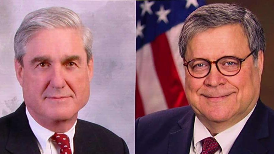 Barr notifies Congress a less-redacted version of Mueller report will be available