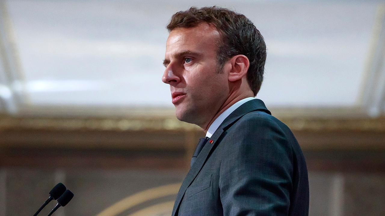 Macron sets five-year timeline for rebuilding Notre Dame