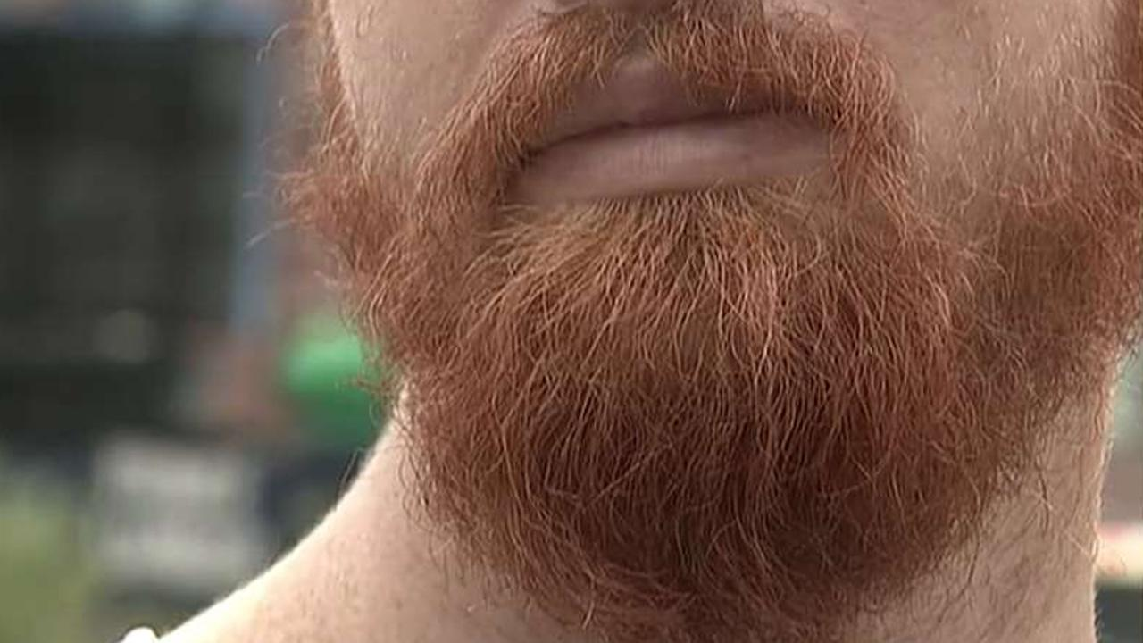 Beards evolved so men could take punches to the head, study finds - Fox News