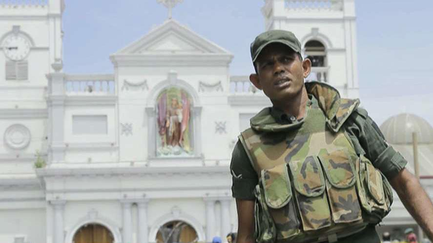 Near simultaneous explosions rock three churches, three hotels in Sri Lanka on Easter Sunday