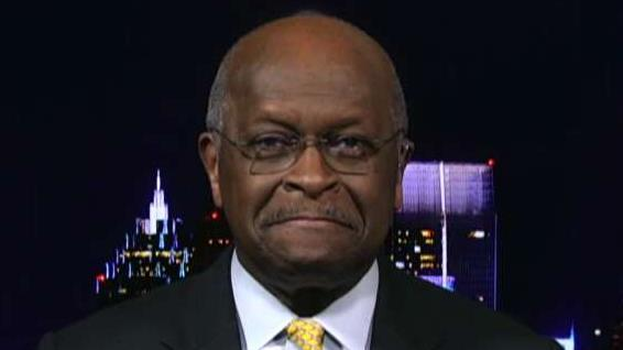 Herman Cain says sexual harassment allegations not a factor in withdrawing from Fed consideration