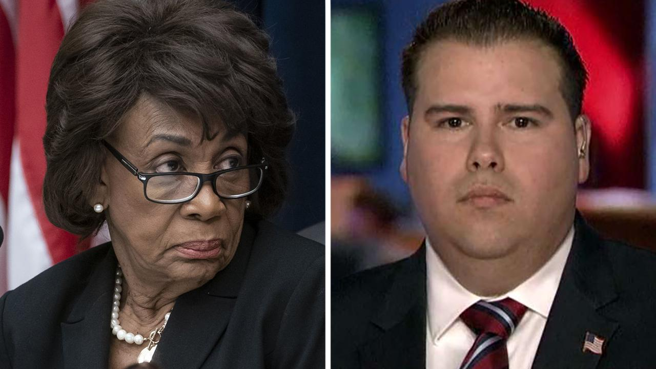 Westlake Legal Group 694940094001_6029829806001_6029826673001-vs Maxine Waters' Republican challenger says she's more likely to be impeached than Trump Lukas Mikelionis fox-news/politics/2020-house-races fox-news/person/maxine-waters fox news fnc/politics fnc article 358d168e-a447-58e2-9cd3-c9f4b5bc9421