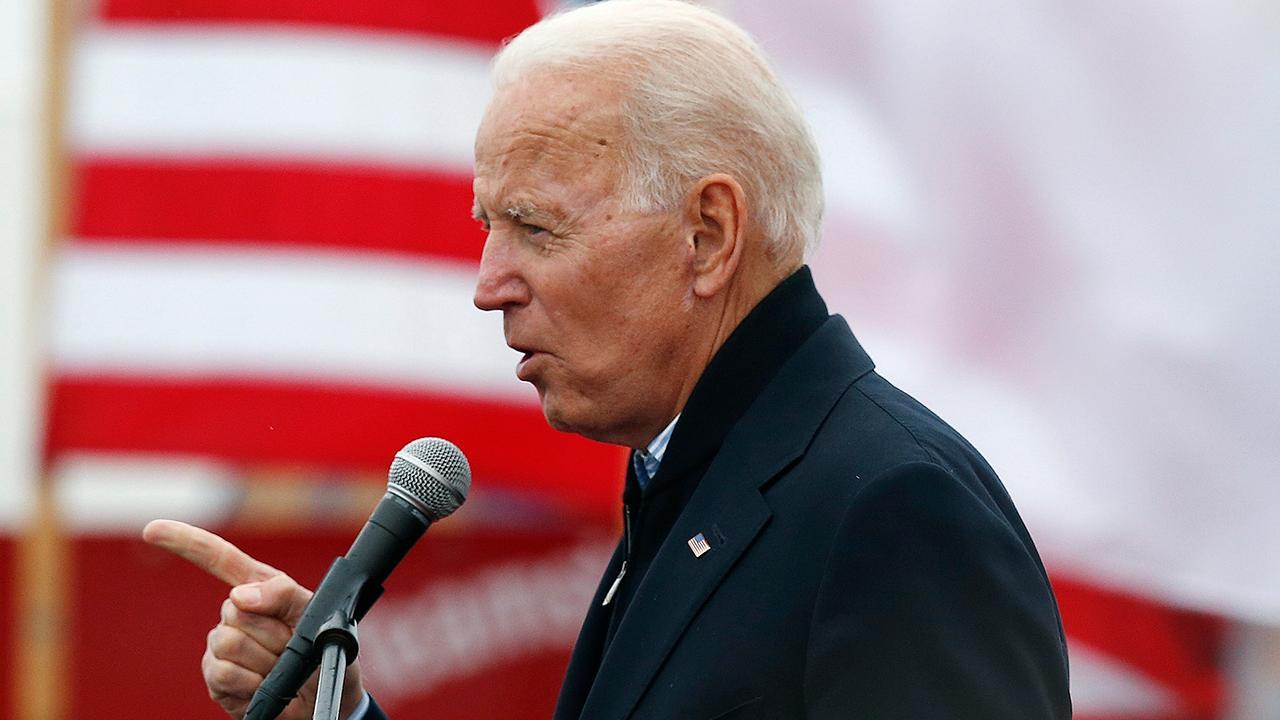 Biden 2020 announcement met with quick endorsements, pushback from Democrats