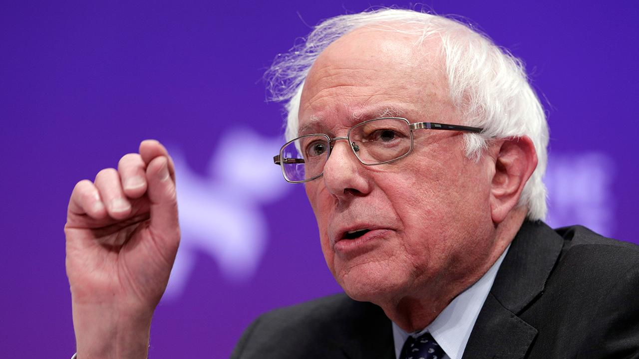 photo image Sanders not concerned with past failed presidential run