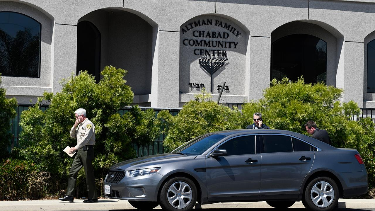 One dead, three injured in California synagogue shooting