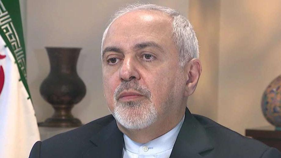 Iran's foreign minister accuses US and Mideast officials of trying provoke a conflict with Iran