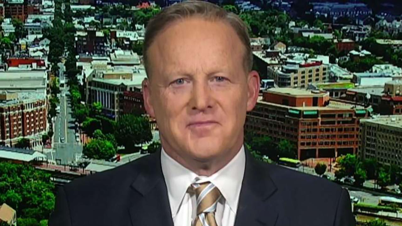 Westlake Legal Group 694940094001_6031099867001_6031099383001-vs Sean Spicer: Trump will run 'on a record of accomplishment' in 2020 fox-news/topic/fox-news-flash fox-news/politics/2020-presidential-election fox-news/person/joe-biden fox-news/person/bernie-sanders fox news fnc/politics fnc article Anna Hopkins 95305067-1d4c-55bd-b918-f738860abdff